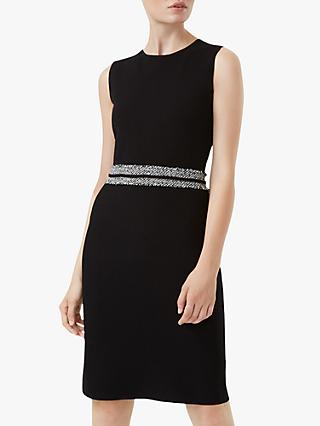 Hobbs Frankie Knitted Dress, Black