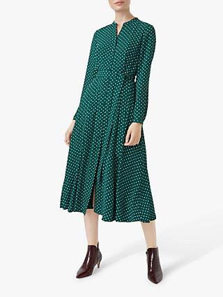 Hobbs Tarni Dress, Green