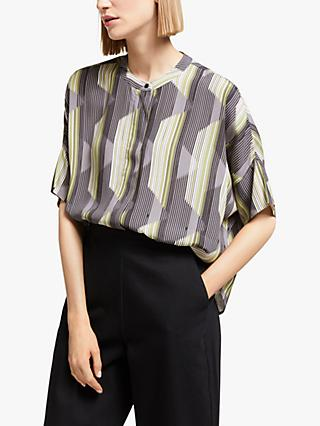 Kin Inari Print Shirt, Yellow