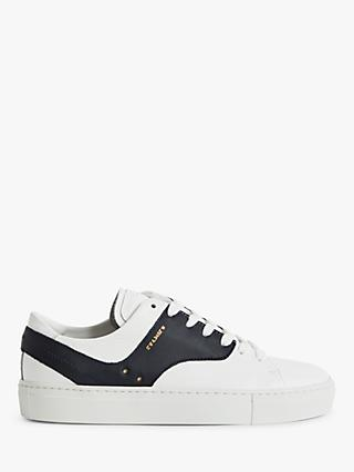 Reiss Oxford Leather Trainers
