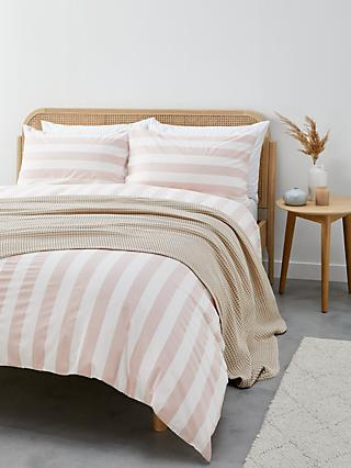 John Lewis & Partners Chelsea Stripe Duvet Cover Set