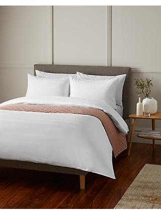 John Lewis & Partners Chevron Texture Bedding