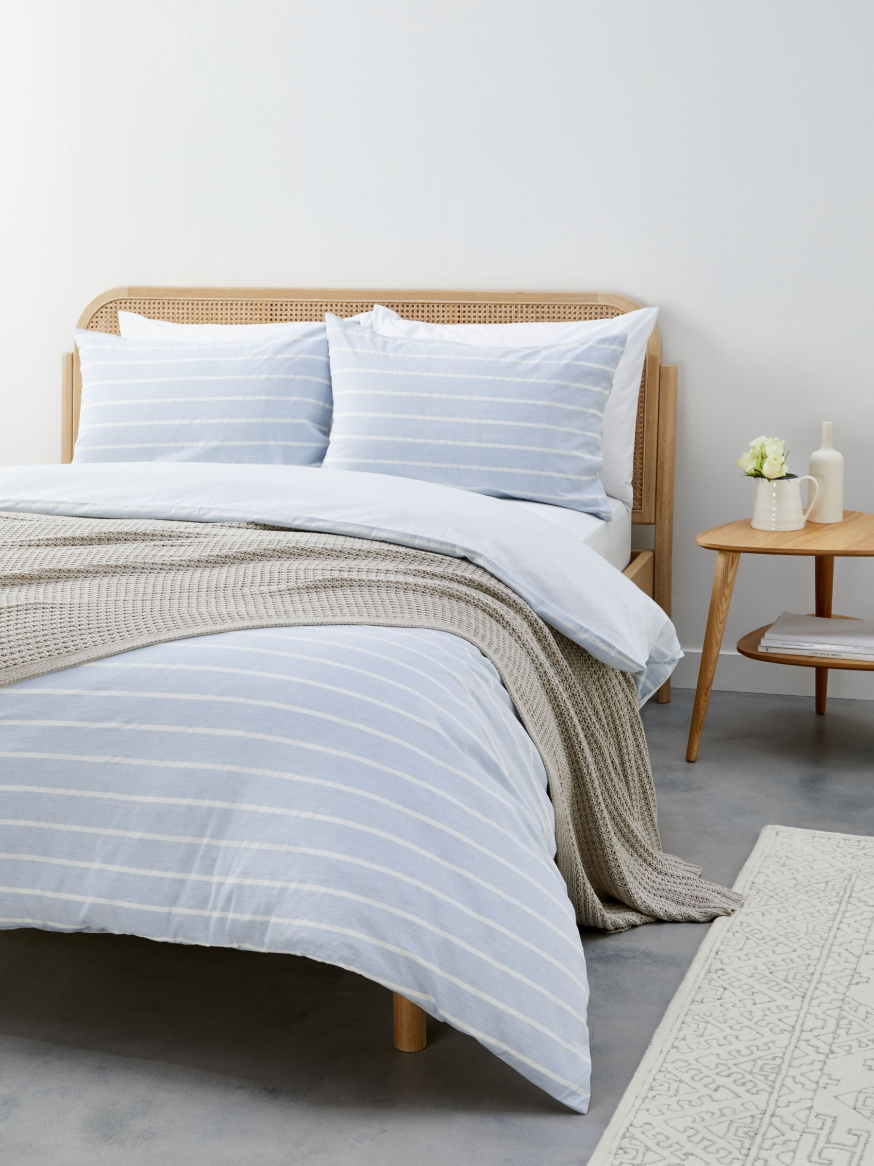 Blue Stripe Duvet Covers John Lewis Partners