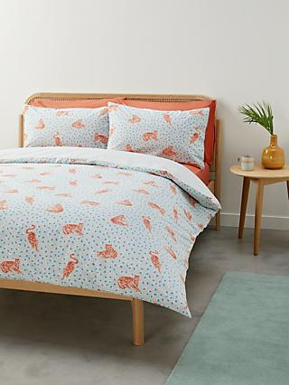 House by John Lewis Tiger Duvet Cover Set