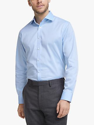 John Lewis & Partners Non Iron Twill Tailored Fit Shirt