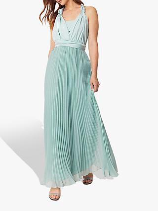 Oasis Wear It Maxi Dress, Pale Green