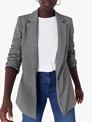 Oasis Puppytooth Ponte Jacket, Multi
