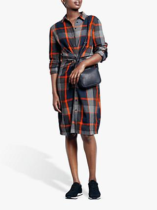 hush Charlie Twist Check Shirt Dress, Check
