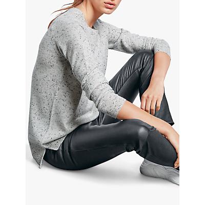 Image of hush Cashmere Boyfriend Jumper, Grey