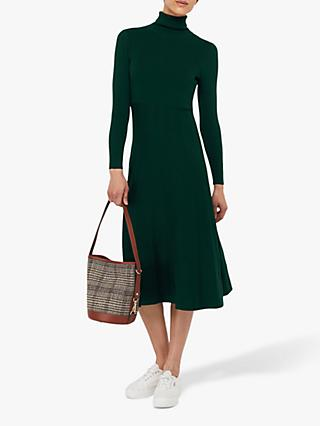 Monsoon Tessa Knitted Dress, Green