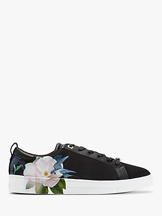Ted Baker Rialy Lace Up Trainers, Black
