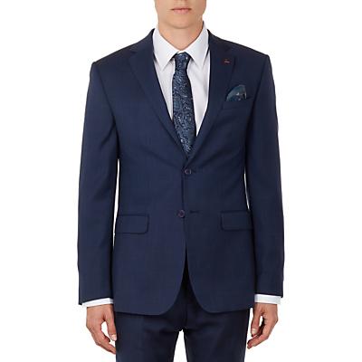 Ted Baker Ovract Birdseye Wool Suit Jacket, Navy