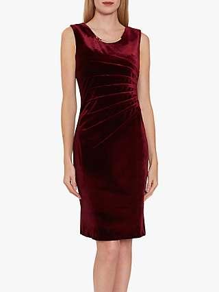 Gina Bacconi Gaela Velvet Shift Dress
