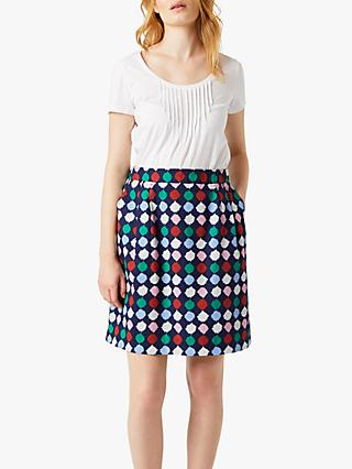 White Stuff Needle Craft Skirt, Multi
