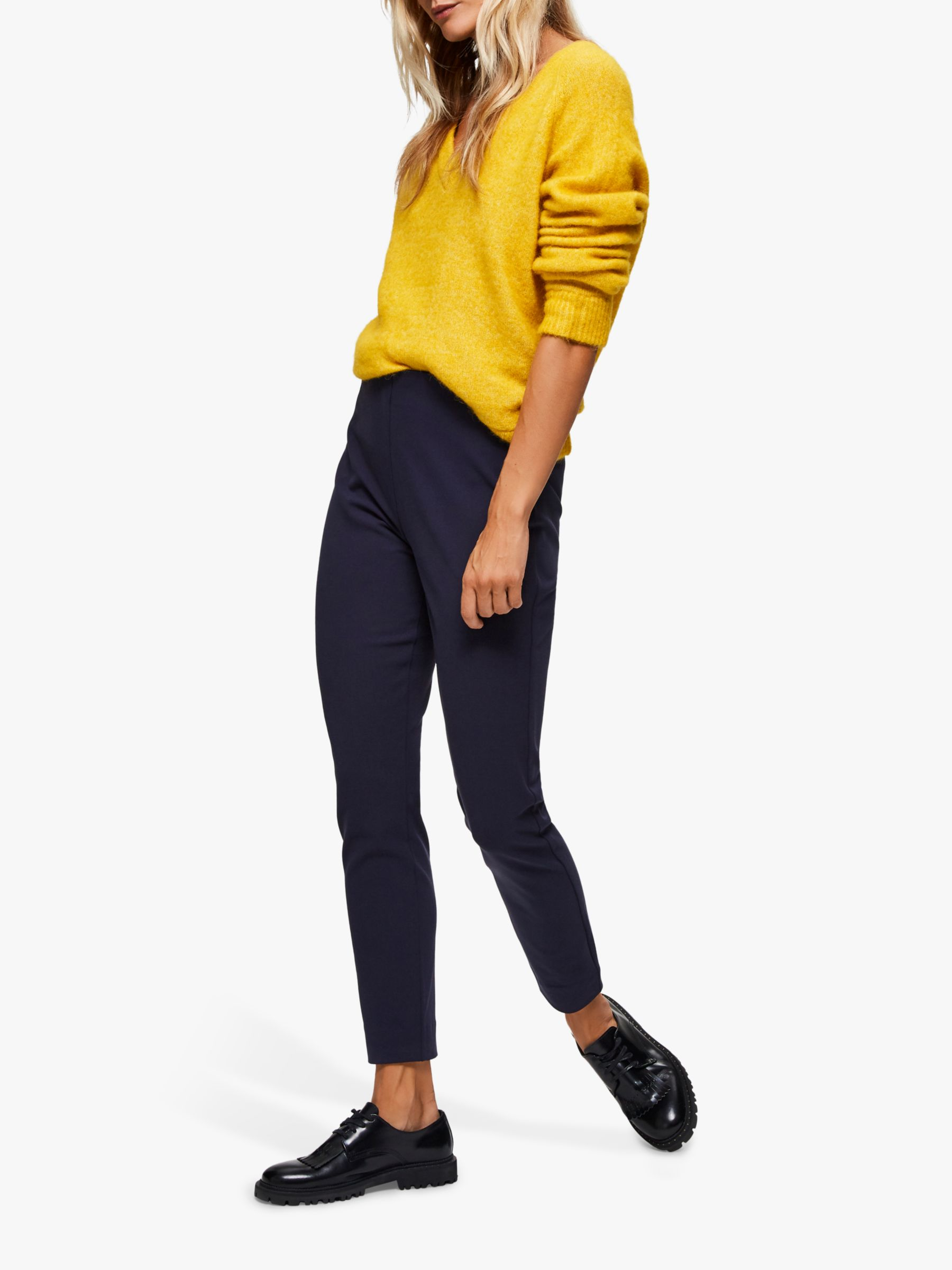 Selected Femme Selected Femme Slim Trousers, Night Sky