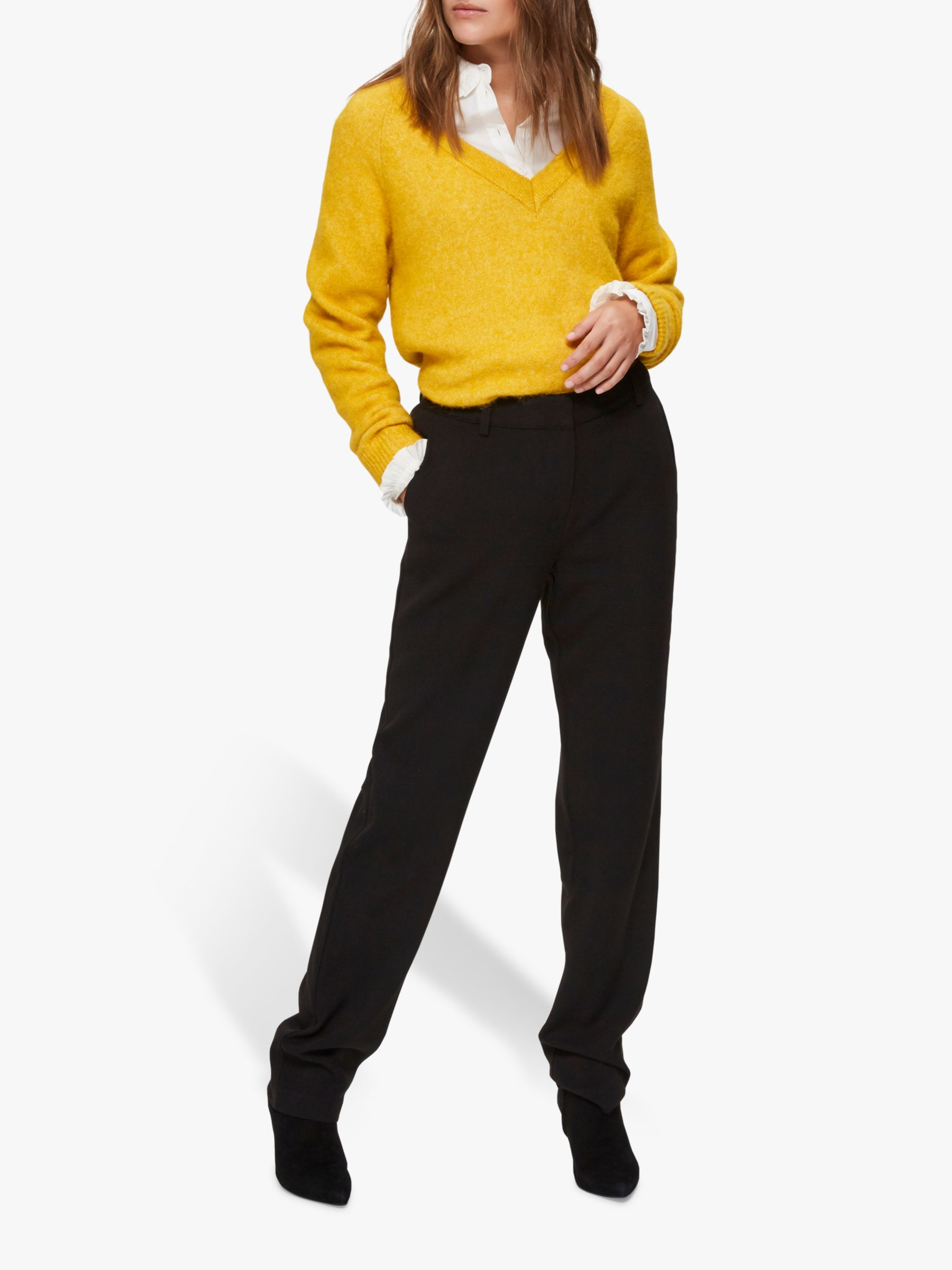 Selected Femme Selected Femme Tamika Flared Trousers, Black