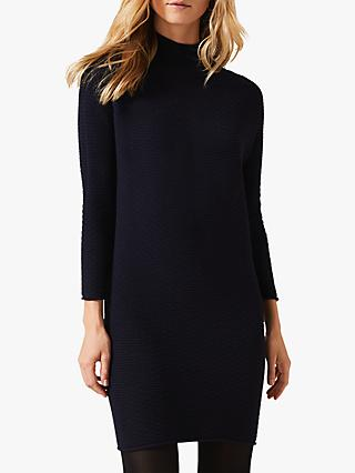 Phase Eight Madie Knit Dress, Navy
