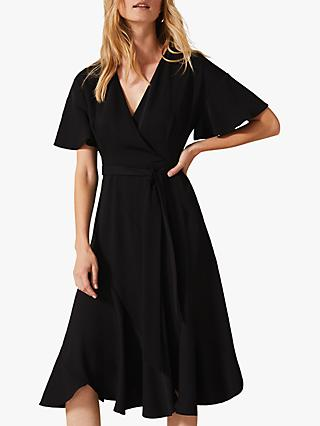 Phase Eight Elena Panelled Dress, Black