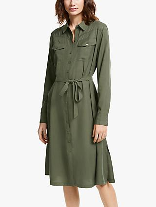 AND/OR Shirt Dress, Khaki