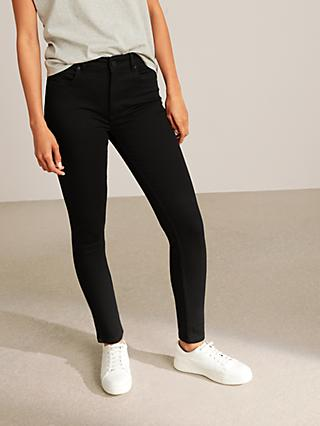 AND/OR Avalon Ankle Grazer Skinny Jeans, Stay Black