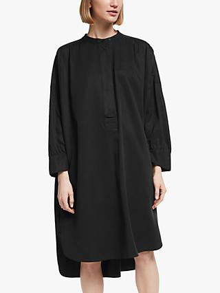Kin Tencel Oversized Utility Dress, Black