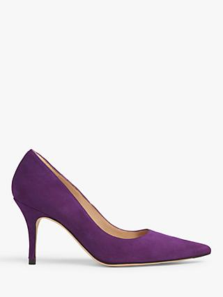 L.K.Bennett Harmony Pointed Toe Court Shoes, Ultra Violet