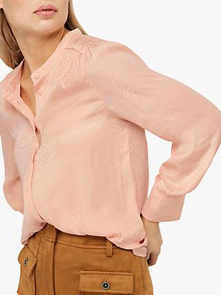 Monsoon Alyssa Zebra Blouse, Pink