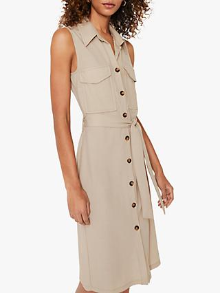 Warehouse Utility Pique Dress