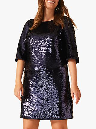 Studio 8 Martha Sequin Tunic Dress, Blue