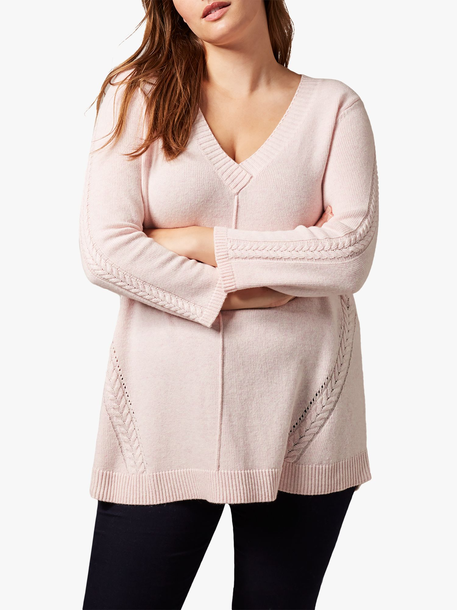 Studio 8 Studio 8 Nixie Cable Jumper, Pale Pink