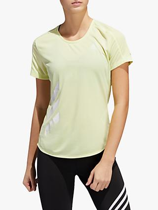 adidas Run It 3-Stripes Fast Running Top