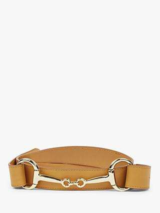 Hobbs Alice Leather Belt, Tan