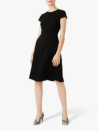 Hobbs Henna Dress, Black