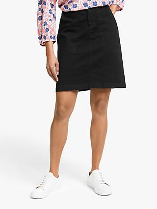 Collection WEEKEND by John Lewis Chino A-Line Utility Pocket Skirt