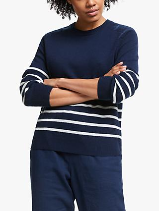 Collection WEEKEND by John Lewis Stripe Cashmere Jumper