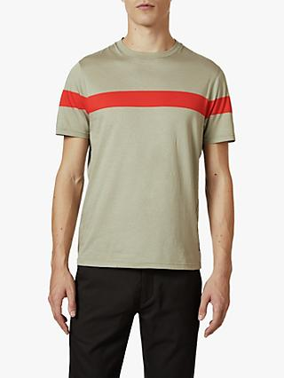 Ted Baker Relaxa Stripe Cotton T-Shirt