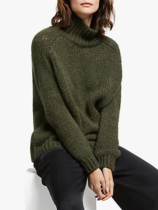 Modern Rarity Chunky Roll Neck Jumper