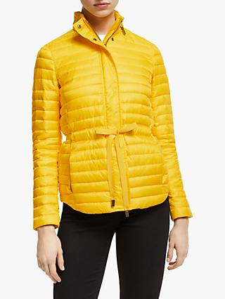 MICHAEL Michael Kors Belted Packable Jacket, Bright Dandelion