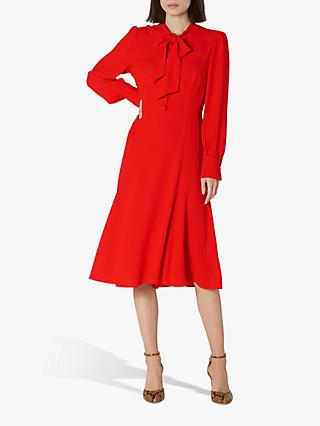L.K.Bennett Mortimer Tie Neck Dress