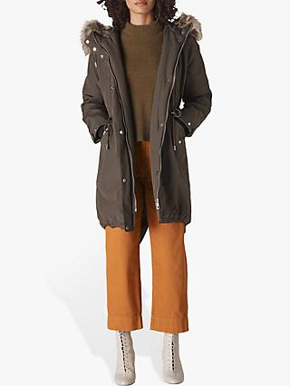 Whistles Cleo Casual Parka