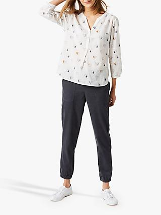 White Stuff Sydling Cotton Jogger, Charcoal
