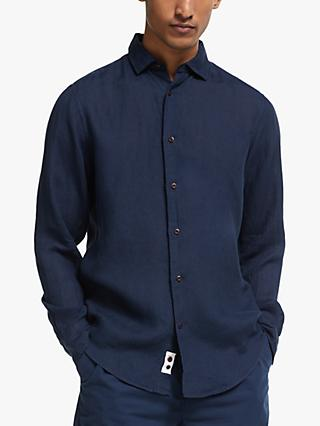 John Lewis & Partners Regular Fit Linen Shirt