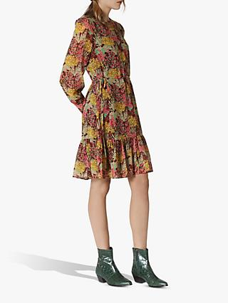 L.K.Bennett Dakota Floral Dress, Burgundy