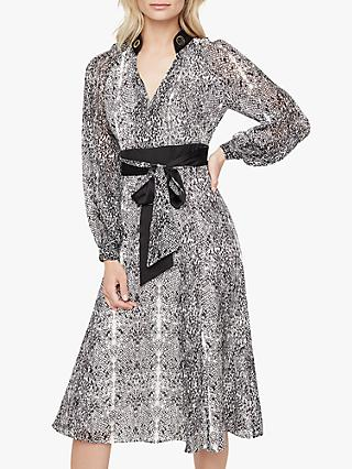 Damsel in a Dress Brooklyn Snake Print Dress, Neutral