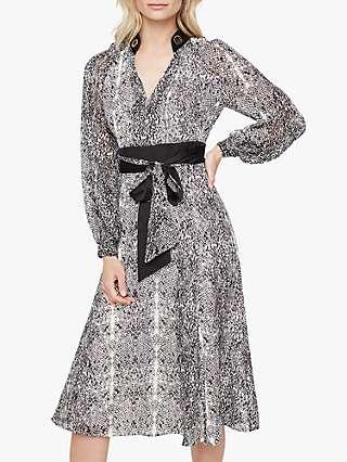 Damsel in a Dress Brooklyn Snake Print Dress, Neutral