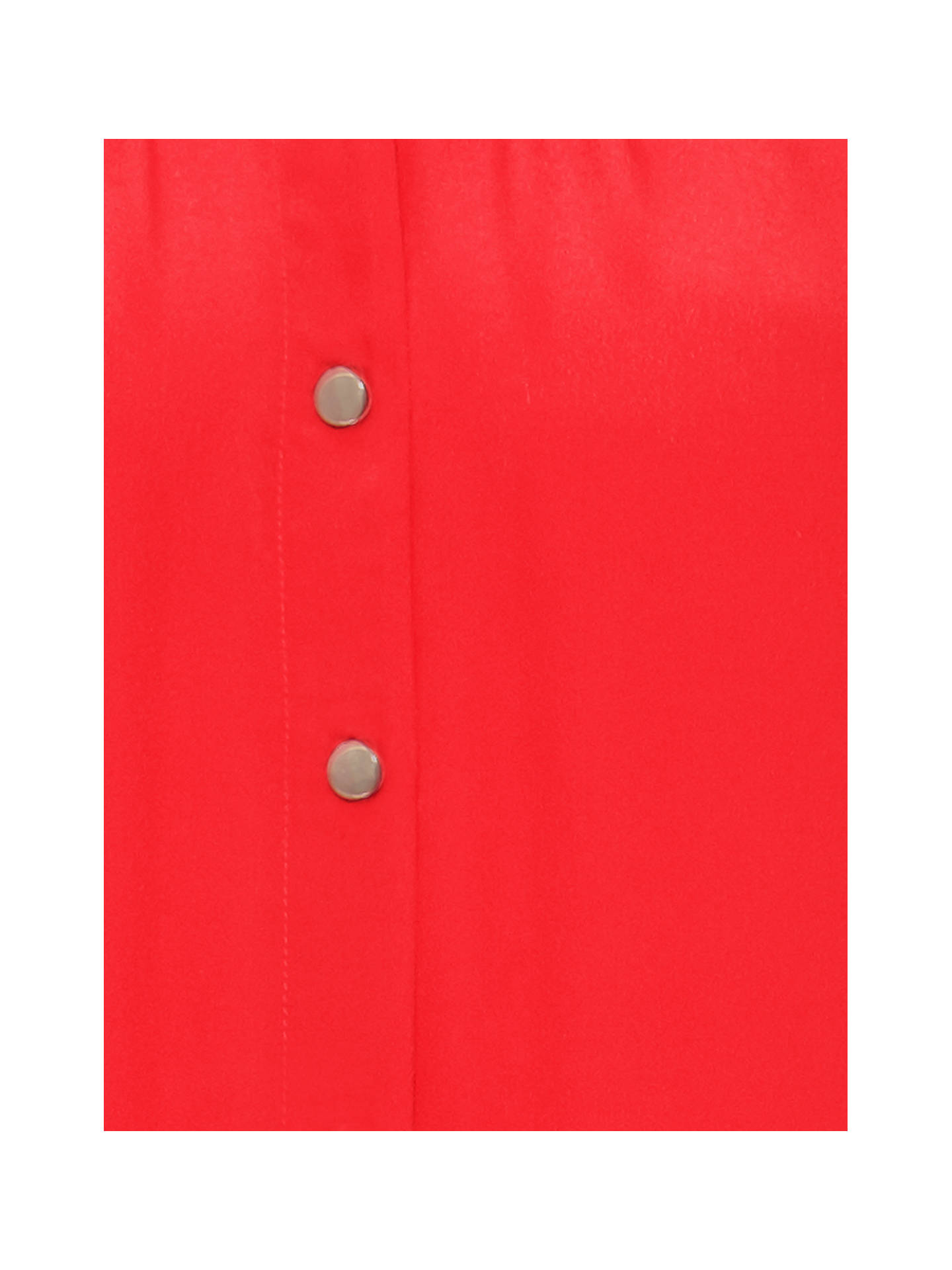 Buy Damsel in a Dress Donelle Silk Blend Chain Detail Blouse, Red, 8 Online at johnlewis.com