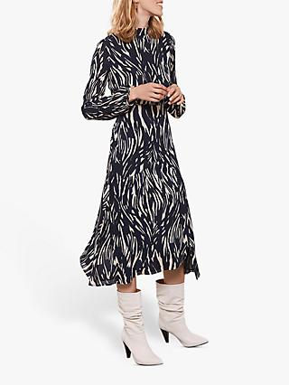 Mint Velvet Sara Animal Print Dress, Multi