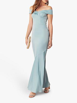 Oasis Bardot Maxi Dress