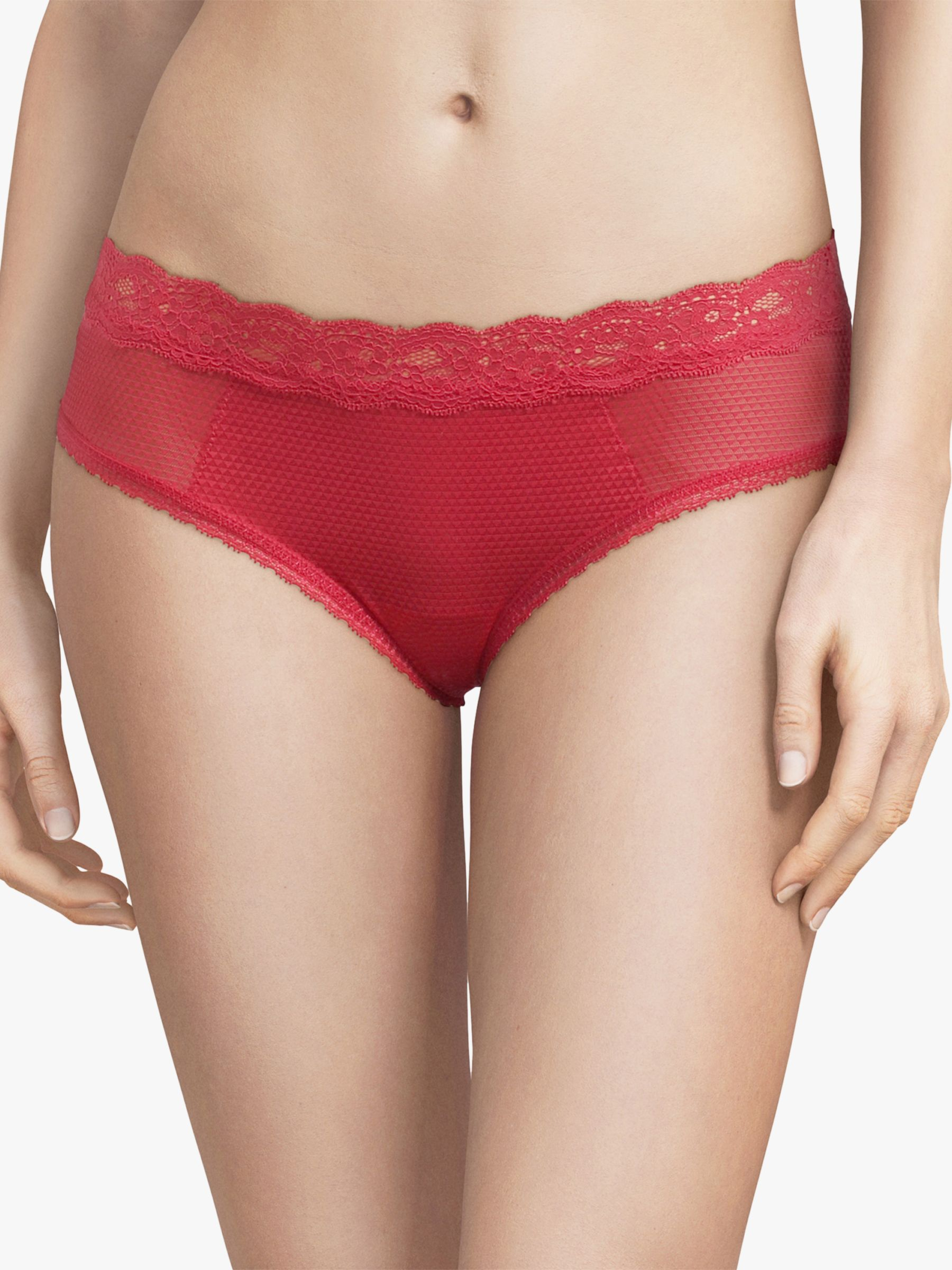 Passionata Passionata Brooklyn Hipster Briefs, Stawberry