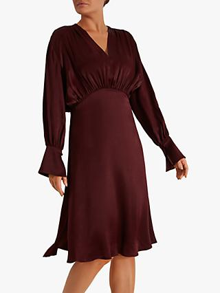 Fenn Wright Manson Germaine Dress, Burgundy